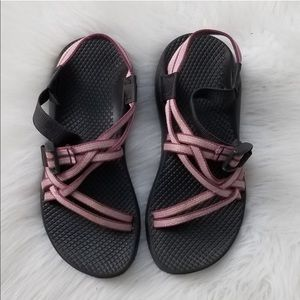 Chacos hiking outdoor sandals double strap pink